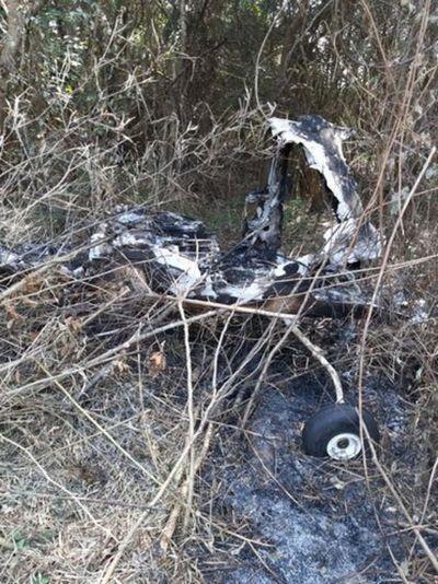 Hallan restos de un posible accidente aéreo en Cerrito