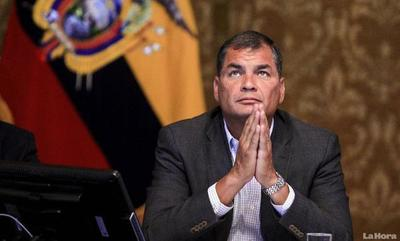Ecuador: Fiscal general pidió prisión preventiva para Rafael Correa, por presuntos sobornos