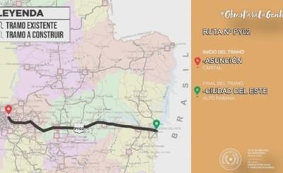 Ruta que une Asunción y Ciudad del Este ahora es la Ruta PY N° 02