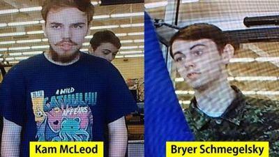 Hallan los cadáveres de dos jóvenes sospechosos de un triple asesinato brutal