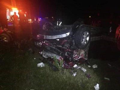 Una fallecida y varios heridos tras accidente de tránsito en Misiones