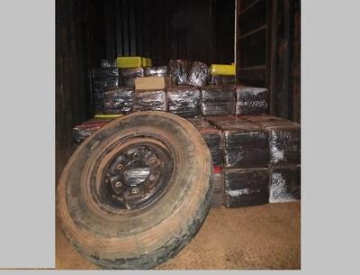 Incautaron más de 2 mil kilos de marihuana, en San Pedro
