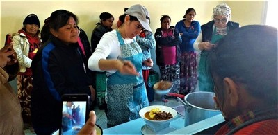 Realizan capacitación para puesta en marcha de almuerzo escolar en Mariscal