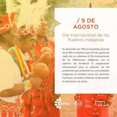 Conmemoran Día Internacional de los Pueblos Indígenas