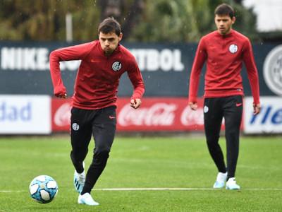 Ángel y Óscar ya entrenaron con el plantel de San Lorenzo
