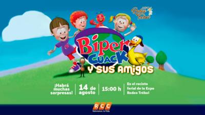 Preparan grandes sorpresas para los niños en la Expo Trebol