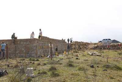 Avanzan trabajos de construcción de monumento en Acosta Ñu