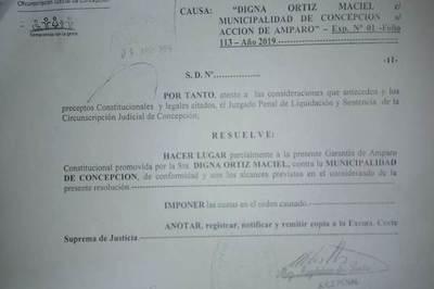 """""""Tati"""" Urbieta tendrá que entregar documentos públicos"""