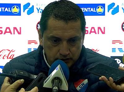 """Aldo Bobadilla destaca el """"gran esfuerzo"""" que hicieron sus muchachos"""