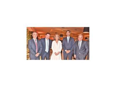 Bienvenida al presidente del Banco Itaú