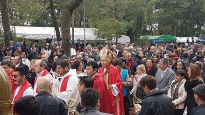 """Mons. Robledo: """"La patria necesita de autoridades justas y transparentes de probada virtud"""""""