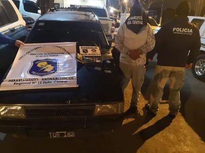 Arrestan a sexagenario con droga en Itauguá