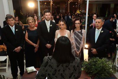 La boda civil de Olivia y Matías