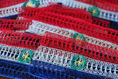 Instituto en Japón enseña a tejer Ñanduti