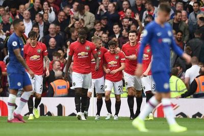 Manchester United golea al Chelsea