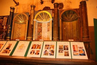 Altos exhibe piezas restauradas de su templo San Lorenzo Mártir