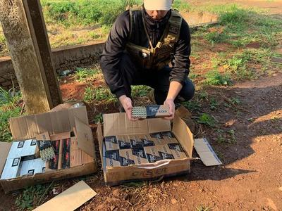 SENAD incauta 80 cajas de municiones durante procedimiento en Hernandarias