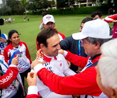 Fabrizio Zanotti conquista la primera medalla de oro para Paraguay