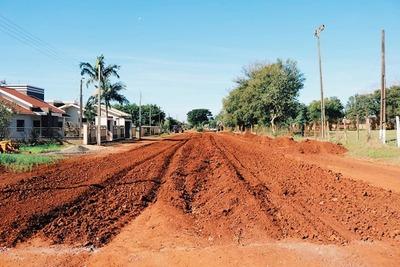En octubre comienza asfaltado del tramo que conduce a Irala
