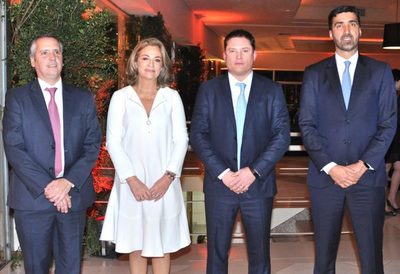 Bienvenida al nuevo presidente de Itaú