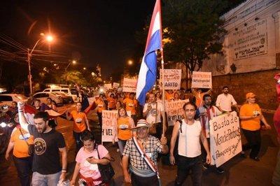 No cesarán los escraches en Asunción