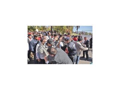 Seccionaleros se movilizan hoy  contra el juicio político