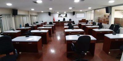 Junta Departamental no sesiona por falta de quórum