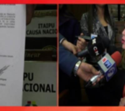 Excluyen a Kattya González de comisión investigadora de Itaipú
