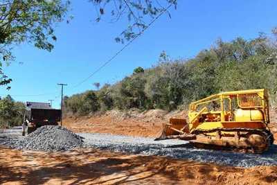 Intensifican labores en zona del futuro Puente de la Integración Paraguay-Brasil