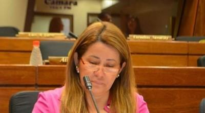 Diputada colorada pide respeto al trabajo de la Comisión Bicameral de Investigaciones
