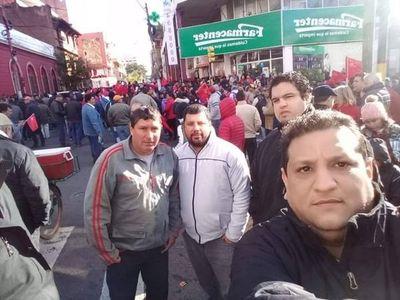 Hurreros unidos de Cordillera llegaron a Asunción