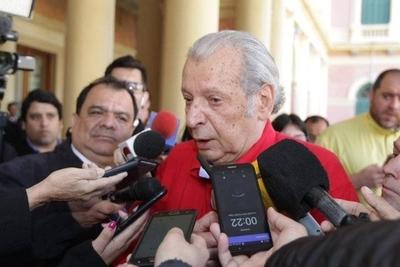 """HOY / Calé dice que HC le ratificó que no apoya juicio político: """"Fue una conversación útil"""""""