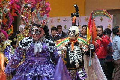 Carnaval de Bolivia será promocionado en la Copa Libertadores
