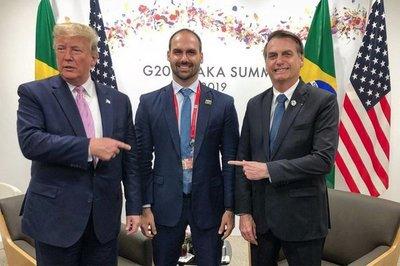 Fiscalía brasileña busca impedir que hijo de Bolsonaro sea embajador en EEUU
