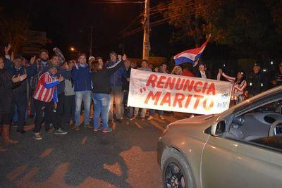 Sanlorenzanos cerraron avenida pidiendo juicio político