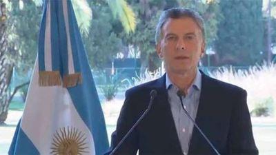 Macri anuncia «medidas de alivio» y pide «disculpas» por sus dichos tras las PASO