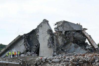 Italia conmemora el primer aniversario del derrumbe del puente de Génova