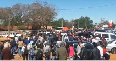 Ciudadanos de San Pedro y Canindeyú exigen juicio político
