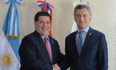HOY / Encuentro de amigos en la residencia presidencial de Olivos, en Argentina