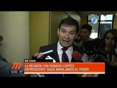 Añetete y la reunión con Horacio Cartes