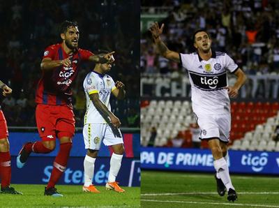 Cerro y Olimpia tienen listos a sus goleadores
