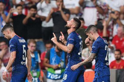 El gol de Giroud