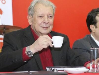 'Efraín Alegre se está convirtiendo en un fenómeno interesante de la paranoia política, con actitudes payasescas'- Sen Galaverna