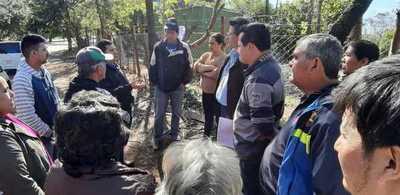 Fiscalía e Itaipú intervienen terreno que habría sido negociado en Franco