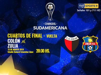 Colón y Zulia se toman revancha en busca de las semifinales