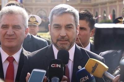 Mario Abdo agradece ayuda de Cartes para evitar su juicio político