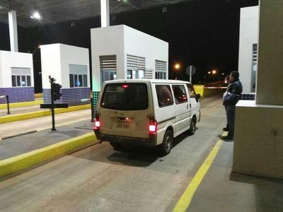 POLICÍA RESULTA HERIDO TRAS ASALTO EN PEAJE DE TRINIDAD