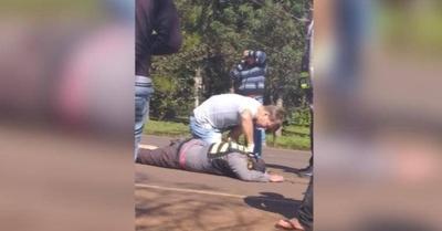HOY / Agente de la Caminera murió arrollado durante servicio