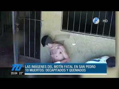 Así fue el motín fatal en la cárcel de San Pedro