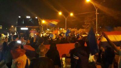 Noche con varias manifestaciones en el interior